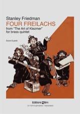 Stanley Friedman - Four Freilachs - Partition - di-arezzo.fr