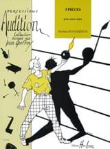 3 Pièces - Stéphan Fougeroux - Partition - laflutedepan.com