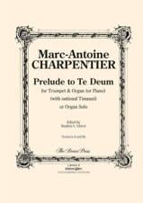 Prelude To Te Deum Marc-Antoine Charpentier Partition laflutedepan.com