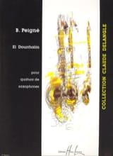 El Dourrhaïm Bertrand Peigné Partition Saxophone - laflutedepan.com