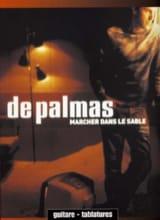 Marcher dans le Sable Gérald De Palmas Partition laflutedepan.com