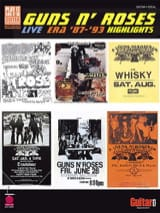 Guns N' Roses - Live Era '87 -'93 Highlights - Sheet Music - di-arezzo.co.uk