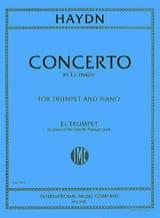 Concerto In Eb Major Partie Eb HAYDN Partition laflutedepan