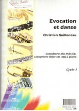 Christian Guillonneau - Evocation Et Danse - Partition - di-arezzo.fr
