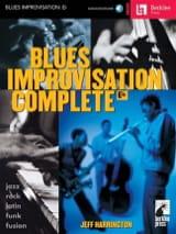 Blues Improvisation Complete Eb - Jeff Harrington - laflutedepan.com