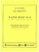 HAENDEL - Water Music in D - Sheet Music - di-arezzo.co.uk