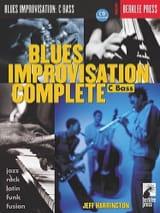 Jeff Harrington - Blues Improvisation Complete - Partition - di-arezzo.fr