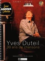 30 Ans de Chansons Yves Duteil Partition laflutedepan
