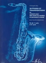 Christophe Bois - 28 Studies And Transpositions - Sheet Music - di-arezzo.com