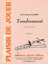 Tendrement Jean-Jacques Flament Partition Trombone - laflutedepan.com