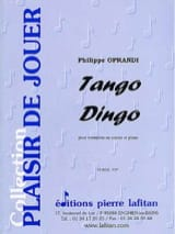 Philippe Oprandi - Tango Dingo - Sheet Music - di-arezzo.co.uk