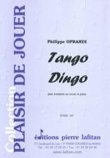 Philippe Oprandi - Tango Dingo - Sheet Music - di-arezzo.com
