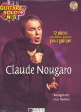Claude Nougaro - Solo Guitar N ° 3 - 12 Specially Adapted Parts For Guitar - Sheet Music - di-arezzo.com