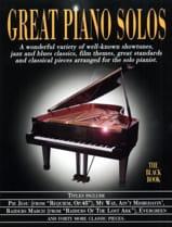 Great piano solos - The black book - Partition - laflutedepan.com