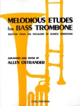 Allen Ostrander - Melodious Etudes For Bass Trombone - Sheet Music - di-arezzo.co.uk