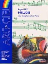 Roger Lersy - Préludes - Partition - di-arezzo.fr