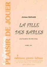 La Fille Des Sables Jérôme Naulais Partition laflutedepan.com