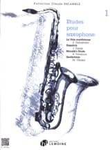 Etudes Pour Saxophone Volume 1 Partition laflutedepan.com