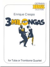 Enrique Crespo - 3 Milongas - Sheet Music - di-arezzo.co.uk