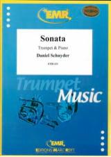 Sonata Daniel Schnyder Partition Trompette - laflutedepan