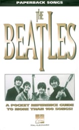 Paperback songs - The Beatles BEATLES Partition laflutedepan.com