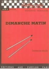 Bertrand Renaudin - Dimanche Matin - Partition - di-arezzo.fr