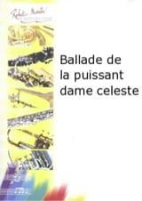 Claude-Henry Joubert - Ballade de la Puissant Dame Celestre - Partition - di-arezzo.fr