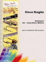Hava Nagila Partition Saxophone - laflutedepan.com