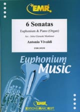 Antonio Vivaldi - 6 Sonates - Partition - di-arezzo.fr