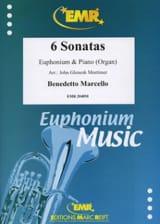 6 Sonates - Benedetto Marcello - Partition - Tuba - laflutedepan.com