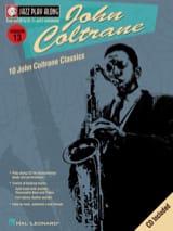 Jazz play-along volume 13 - John Coltrane John Coltrane laflutedepan