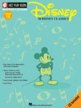 Jazz play-along volume 10 - Disney Classics DISNEY laflutedepan