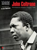 John Coltrane - A Love Supreme - Partition - di-arezzo.fr