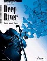 Turner Barrie Carson - Deep River 8 Pieces For Violin & Piano - Partition - di-arezzo.fr