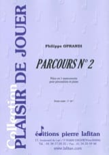 Philippe Oprandi - Parcours N° 2 - Partition - di-arezzo.fr