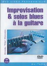 DVD - Improvisation & Solos Blues A la Guitare laflutedepan