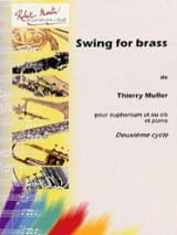 Swing For Brass Thierry Muller Partition Tuba - laflutedepan.com
