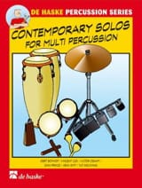 - Contemporary Solos For Multiple Percussion - Sheet Music - di-arezzo.com