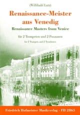 Renaissance-Meister Aus Venedig Partition laflutedepan.com