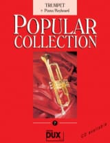 Popular collection volume 7 Partition Trompette - laflutedepan.com
