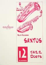 Saxtus 12 Jazz Duets Félix Volkmann Partition laflutedepan.com