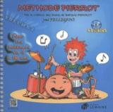 Méthode de Batterie Pierrot Volume 1 Joël Pellegrini laflutedepan.com