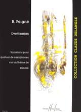 Dvorakarian Bertrand Peigné Partition Saxophone - laflutedepan.com