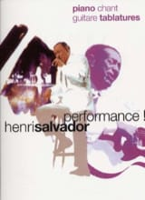 Henri Salvador - Performance - Sheet Music - di-arezzo.co.uk