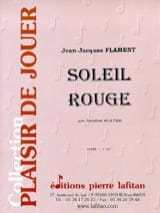 Soleil Rouge Jean-Jacques Flament Partition laflutedepan.com