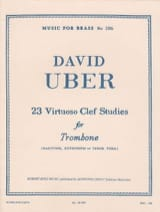 David Uber - 22 Studies - Sheet Music - di-arezzo.co.uk