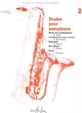 Etudes Pour Saxophone Volume 2 Partition laflutedepan.com