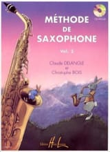 DELANGLE - BOIS - Méthode de Saxophone Volume 2 - Partition - di-arezzo.fr