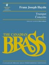 HAYDN - Trumpet Concerto - Partition - di-arezzo.fr