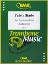 Falstaffiade Opus 134a Jan Koetsier Partition Trombone - laflutedepan
